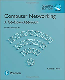 Computer Networks: a top-down approach, 7th edition