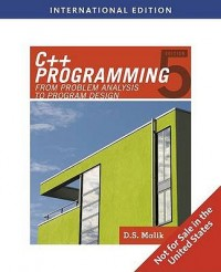Image of C++ programming: from problem analysis to program design, 5th edition